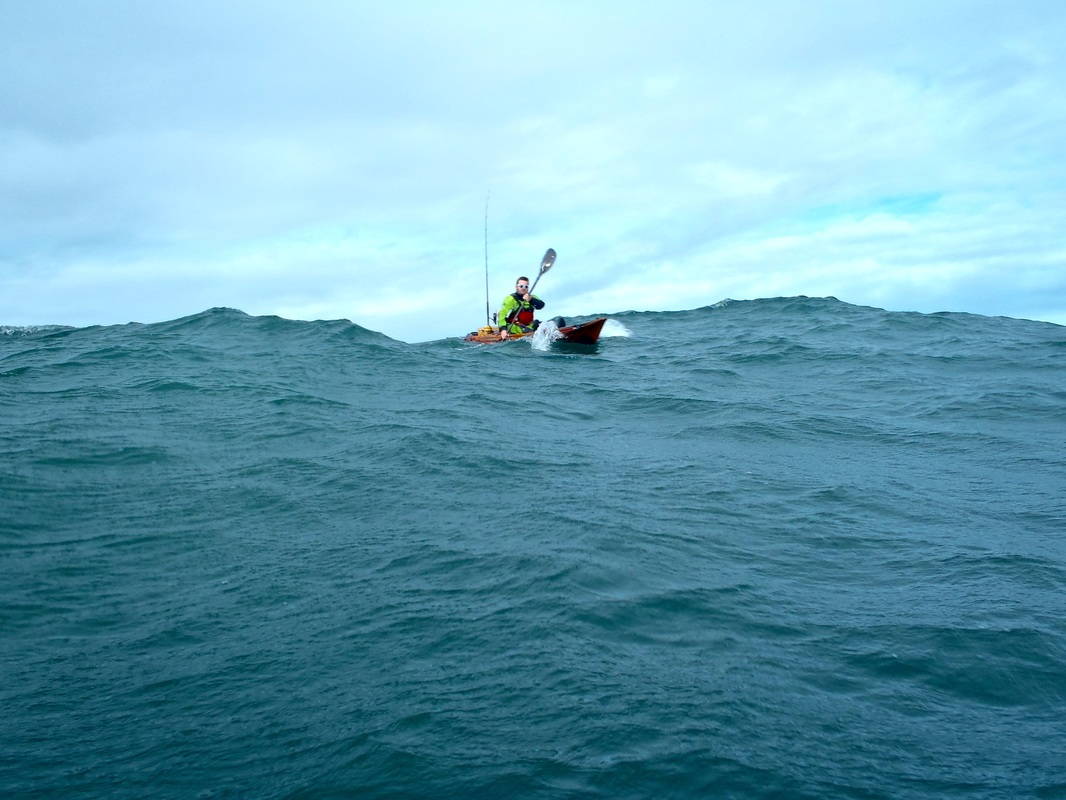 Paddling the RTM Abaco 4.20 in swell