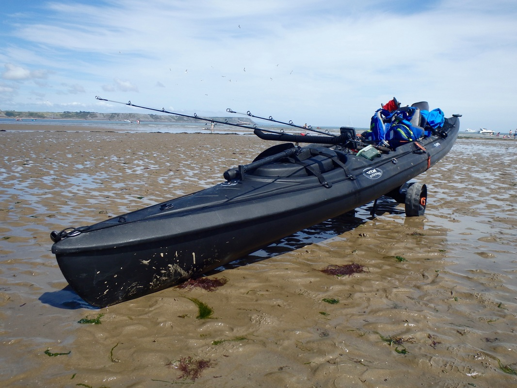 RTM Black Tempo at the Oxwich Bay Kayak Fishing Competition 2015