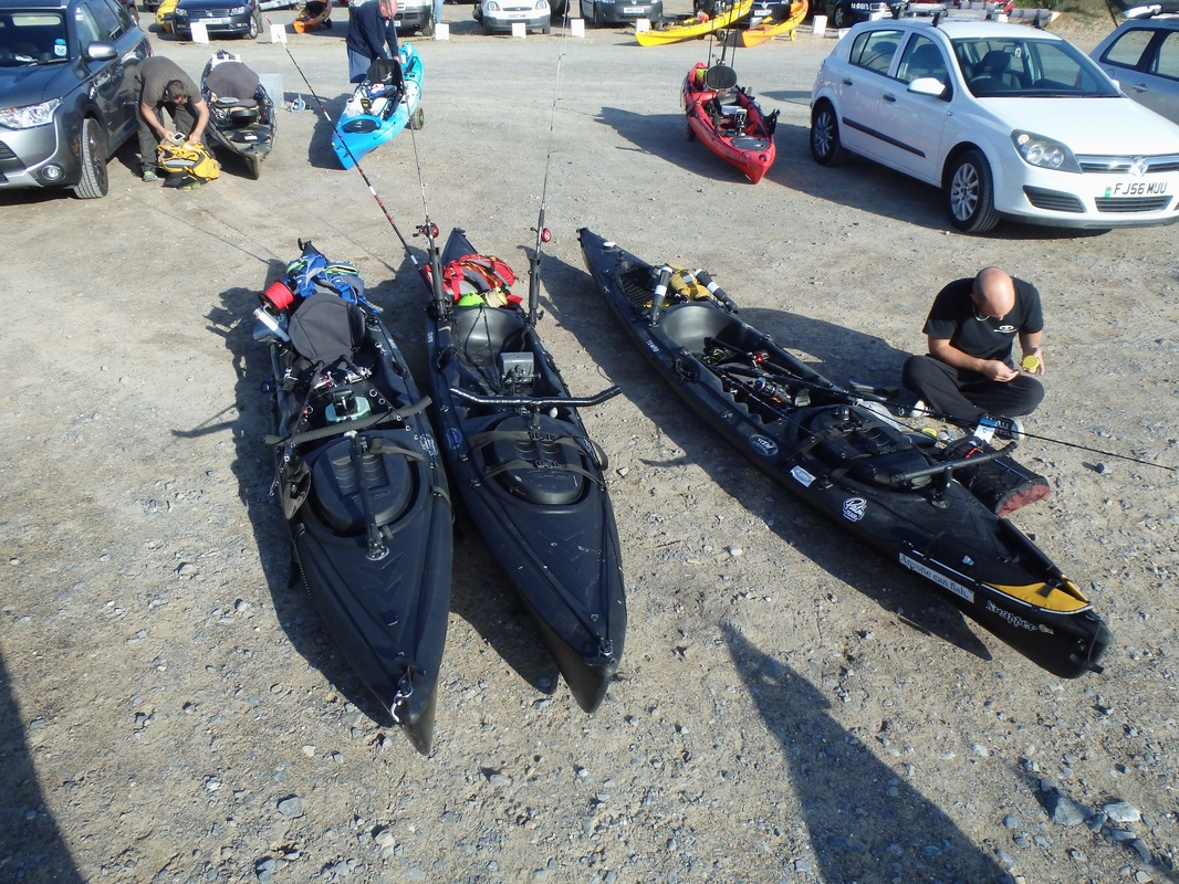 RTM Black Tempo at Oxwich Bay Kayak Fishing Competition