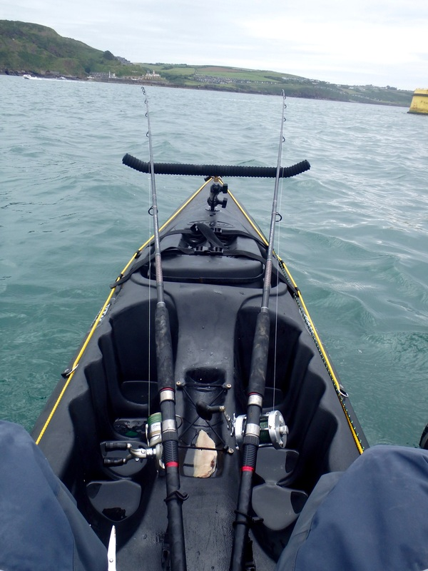 Ram Pole Rod Rest for Kayak Fishing