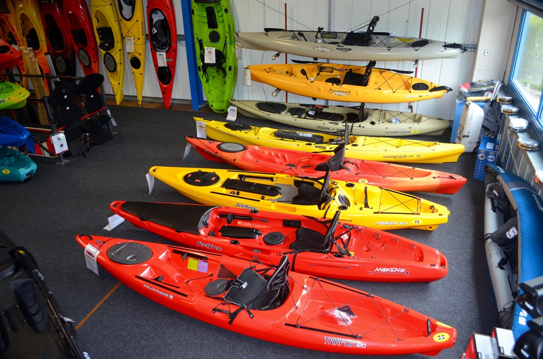 Cornwall Canoes - Cornwall's only specialist Kayak Fishing shop