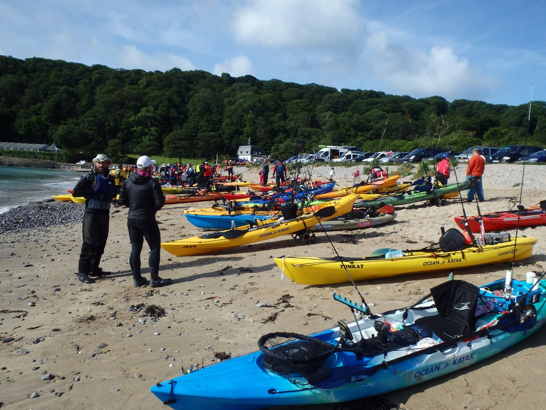 Oxwich Bay Kayak Fishing Competition 2015