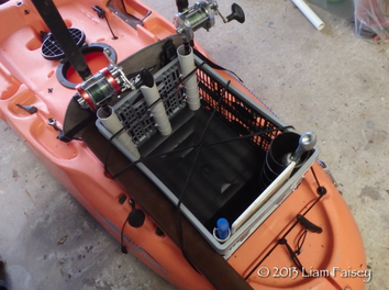 DIY Kayak Fishing Storage Crate