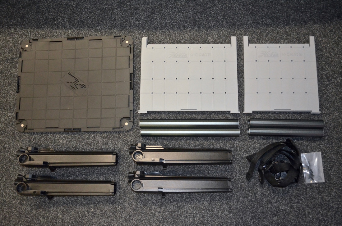 Hobie H-Crate Components