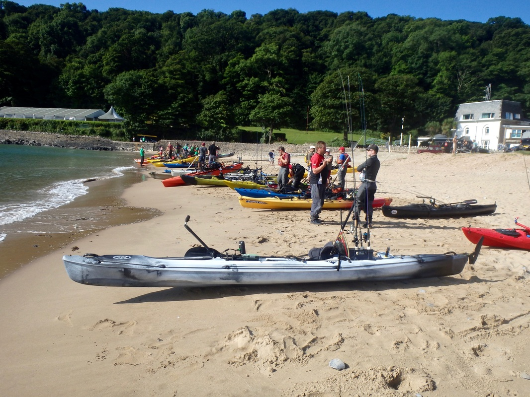 Oxwich Bay 2016 Kayak Fishing Event