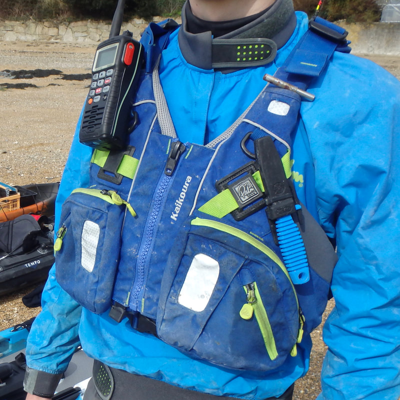 PFD for Kayak Fishing - Palm Kaikoura