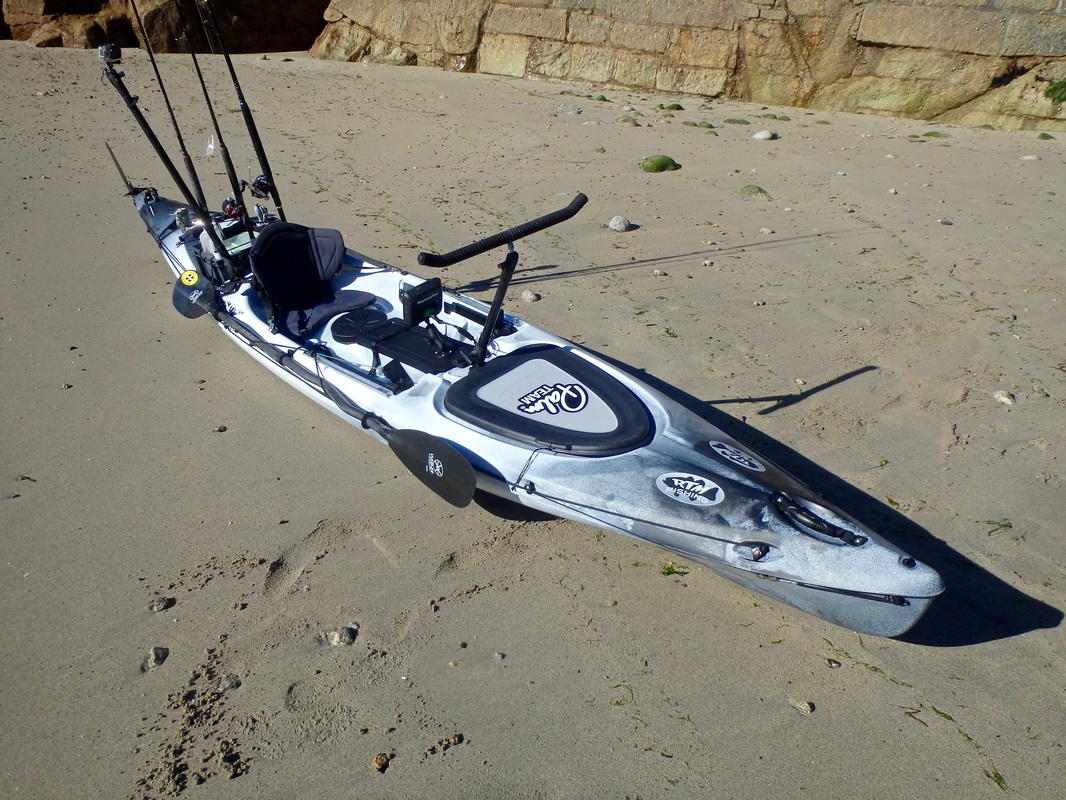 RTM Rytmo Angler in Grey Storm ready for an offshore trip