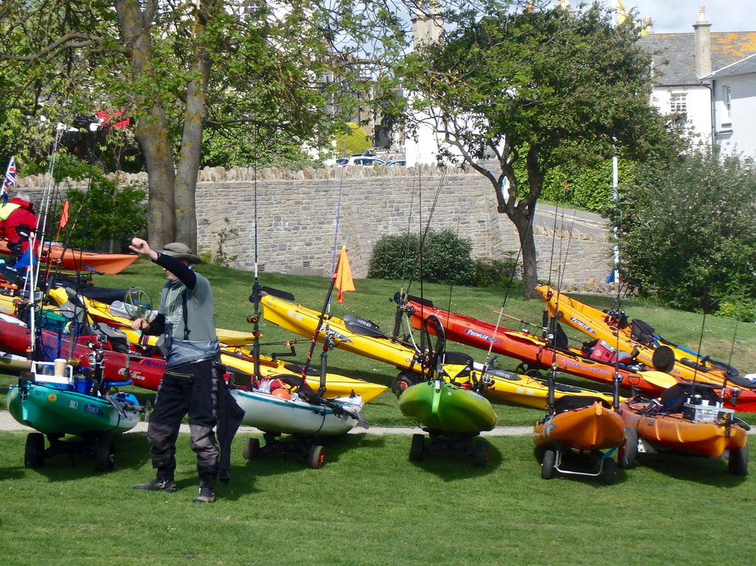 Swanage Classic Kayak Competition 2017