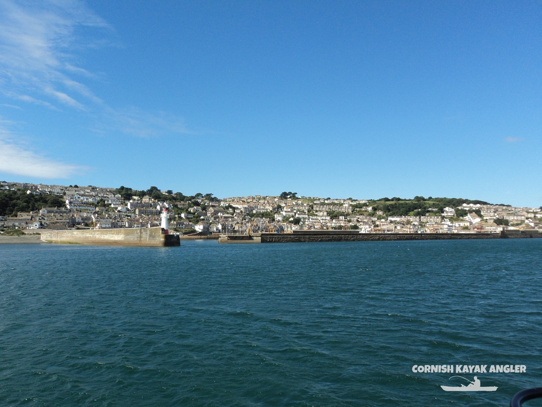 Kayak Fishing at Newlyn - Newlyn Harbour