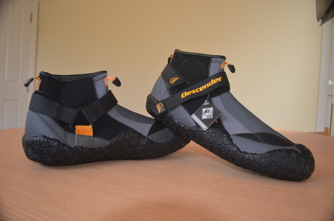 Palm Descender Boots - great footwear for kayak fishing