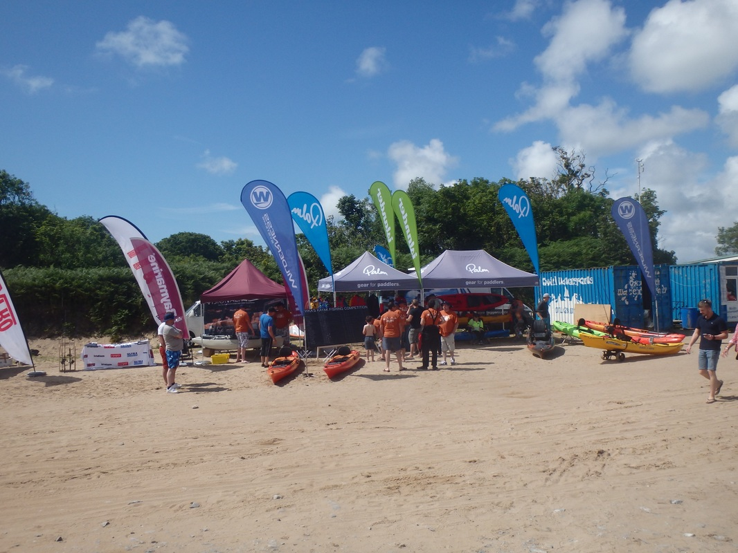 Oxwich Bay Kayak Fishing Event