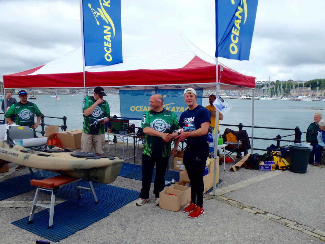 Kieren Faisey 10th Place at the Ocean Kayak Classic 2015