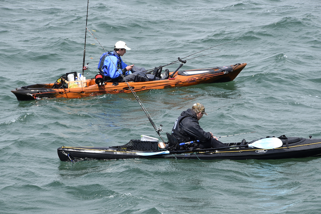 Liam & Kieren Faisey fishing the Ocean Kayak Classic. Photo by www.sophiephotos.com