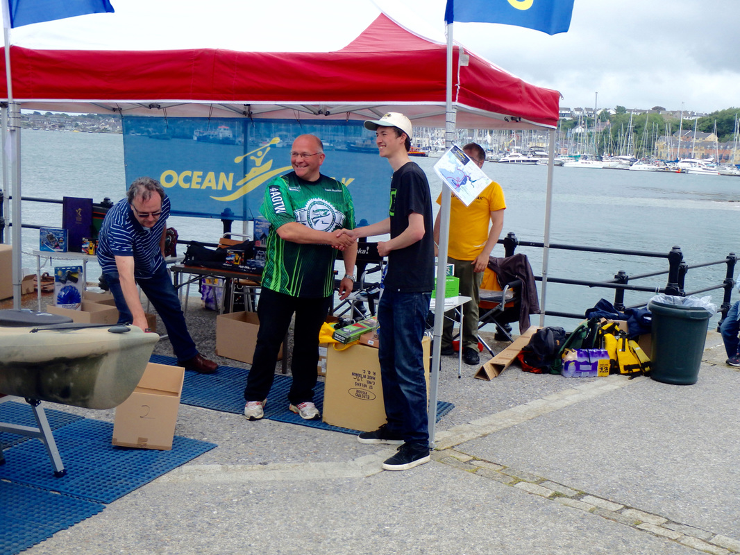 Liam Faisey 4th Place at the Ocean Kayak Classic 2015