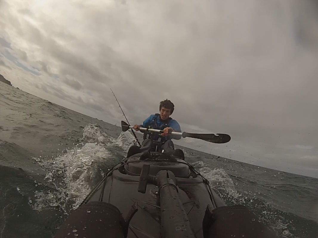 Paddling the RTM Tempo in swell