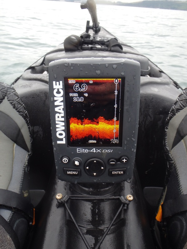 Lowrance Elite 4x-dsi on the RTM Tempo