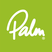 Palm Equipment Logo - Lime Green