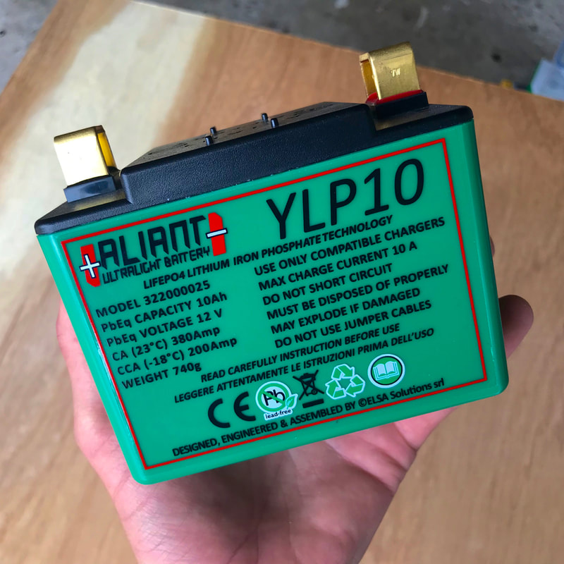 Aliant YLP10 Lithium Iron Phosphate Battery