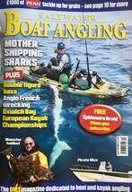 Saltwater Boat Angling Magazine Kayak Fishing
