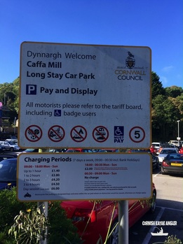 Caffa Mill Car Parking Charges as of September 2016
