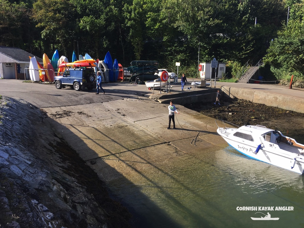 The Caffa Mill Slipway - Easy launching for kayaks and canoes onto the River Fowey