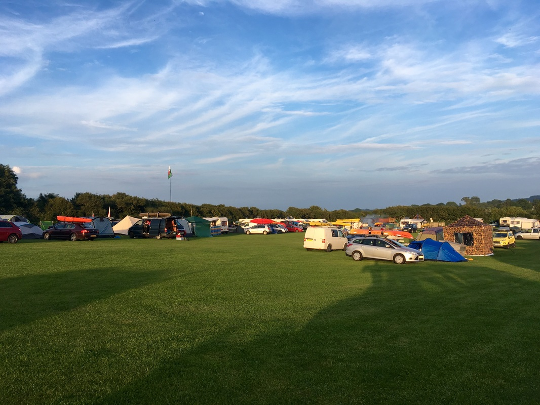 Oxwich Bay 2016 Gower Campsite