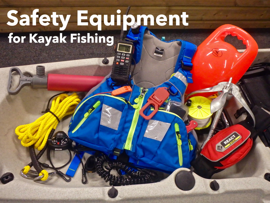 Recommended Kayak Fishing Safety Equipment