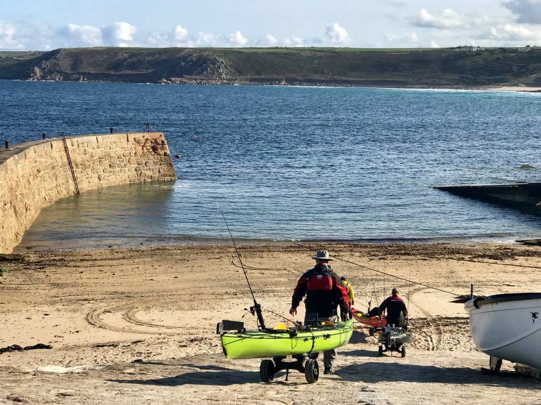 Penzance Kayak Fishing Meet 2018