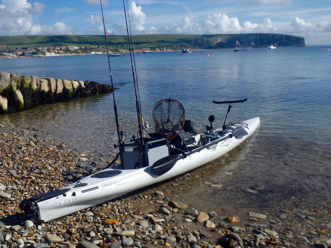 Swanage Kayak Fishing Launch