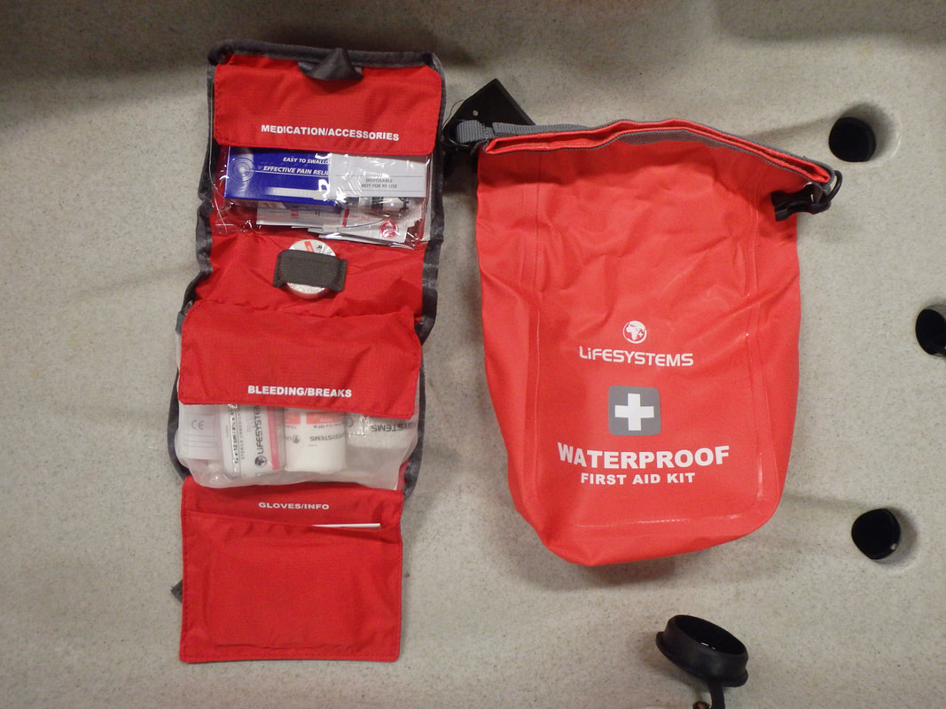 Life systems Waterproof First Aid Kit for Kayak Fishing
