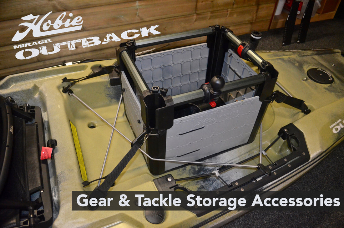 Gear and Tackle Storage on the Hobie Outback