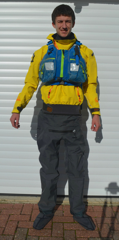 Palm Bora Drysuit with Palm Kaikoura PFD