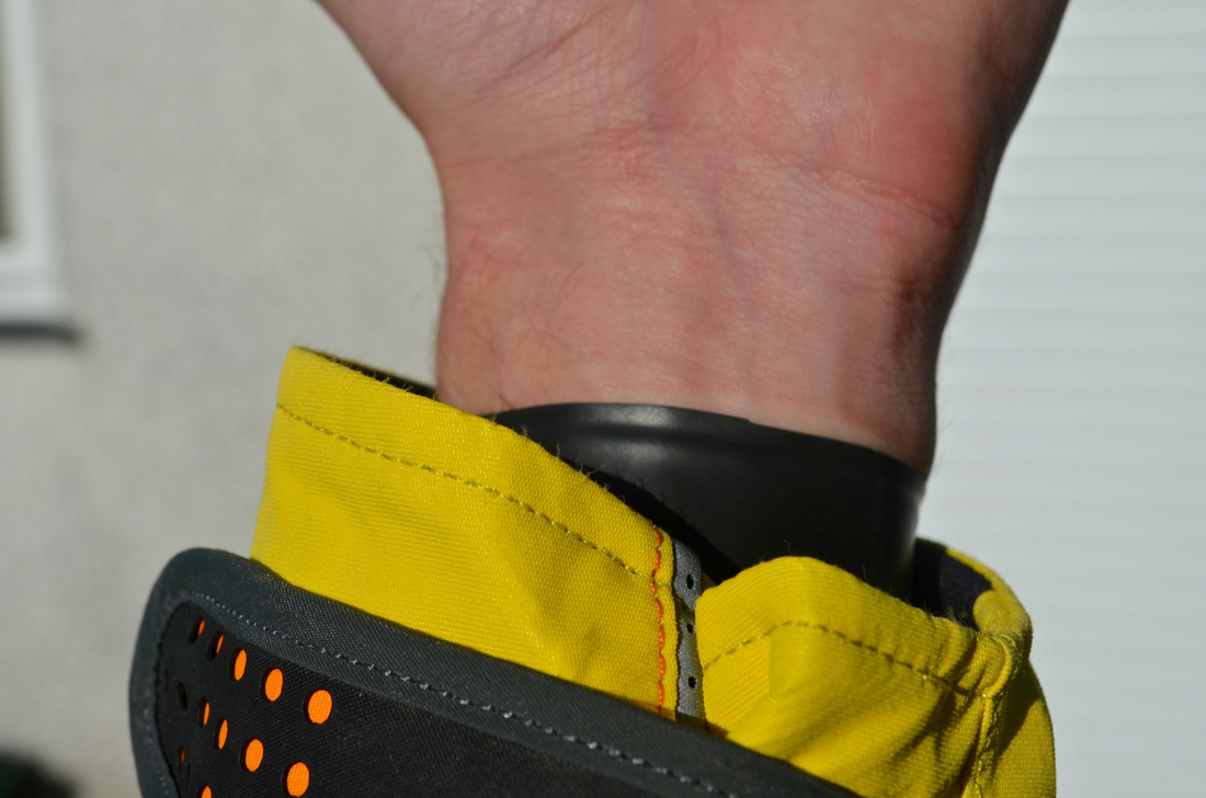 Palm Bora Drysuit - Latex Wrist Seals with Adjustable Velcro Cuffs