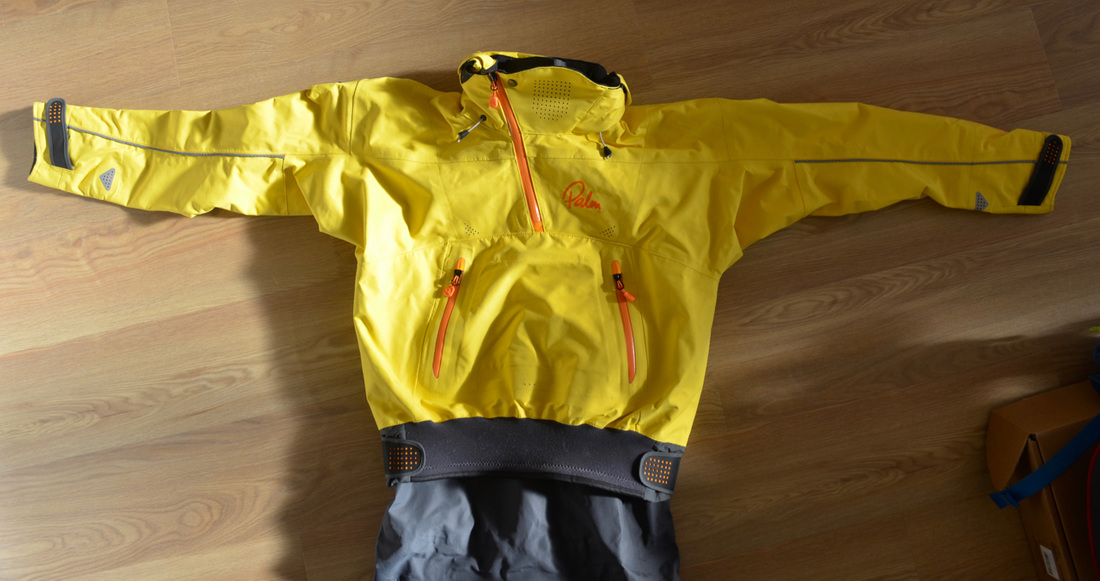 Palm Bora Drysuit - Cag Top Section