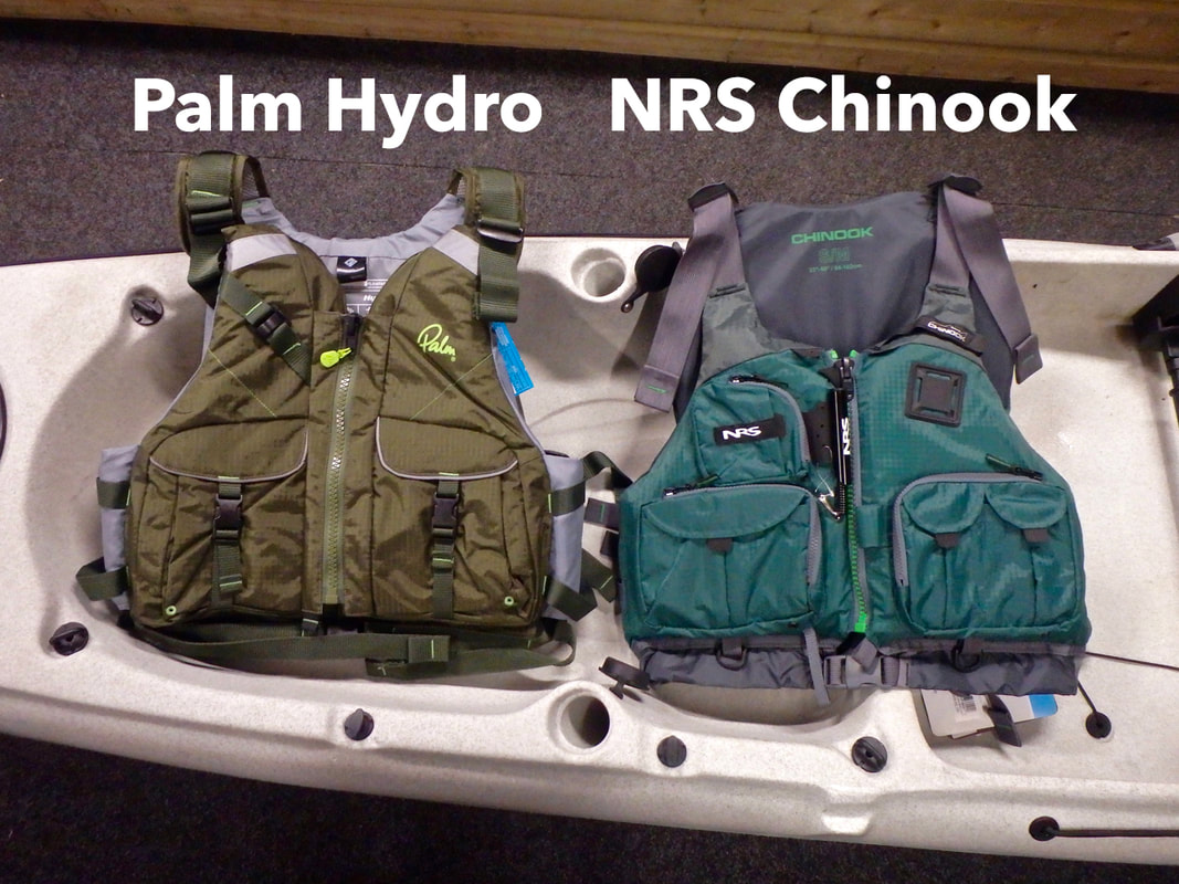 Palm Hydro and NRS Chinook for Kayak Fishing