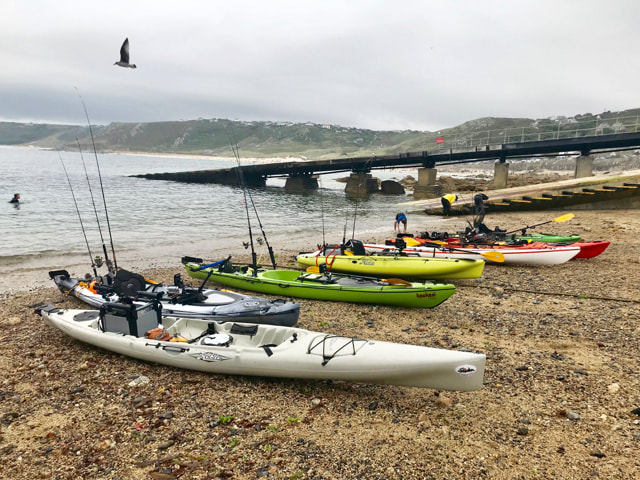 Penzance Kayak Fishing Meet 2019 Report