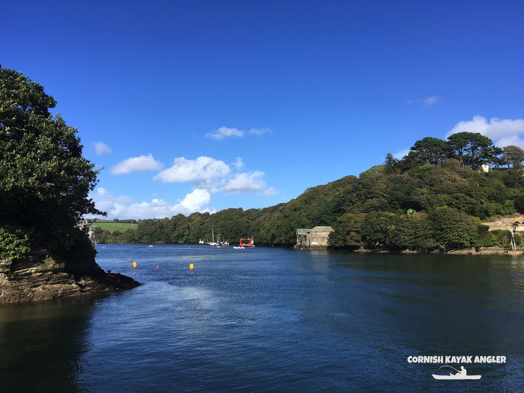 Looking up the River Fowey from Caffa Mill