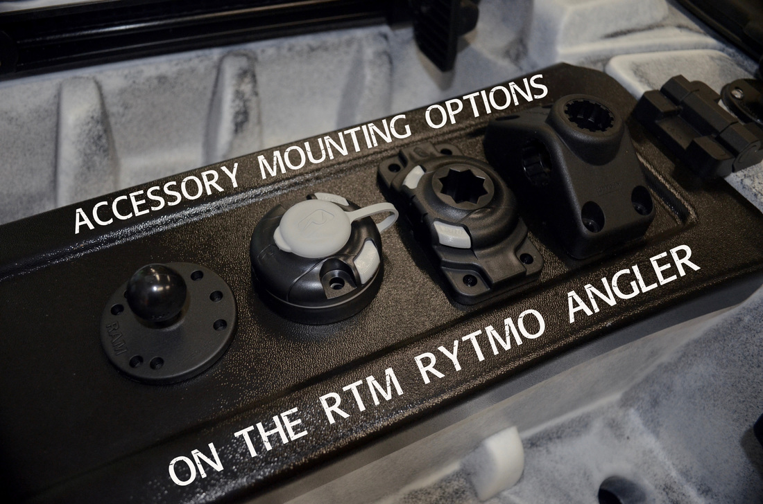 Accessory Mounting Options on the RTM Rytmo Angler