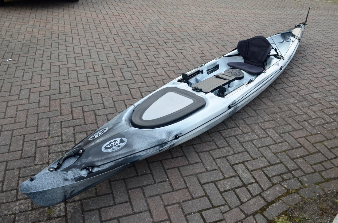 RTM Rytmo Angler with RTM Luxe Seat