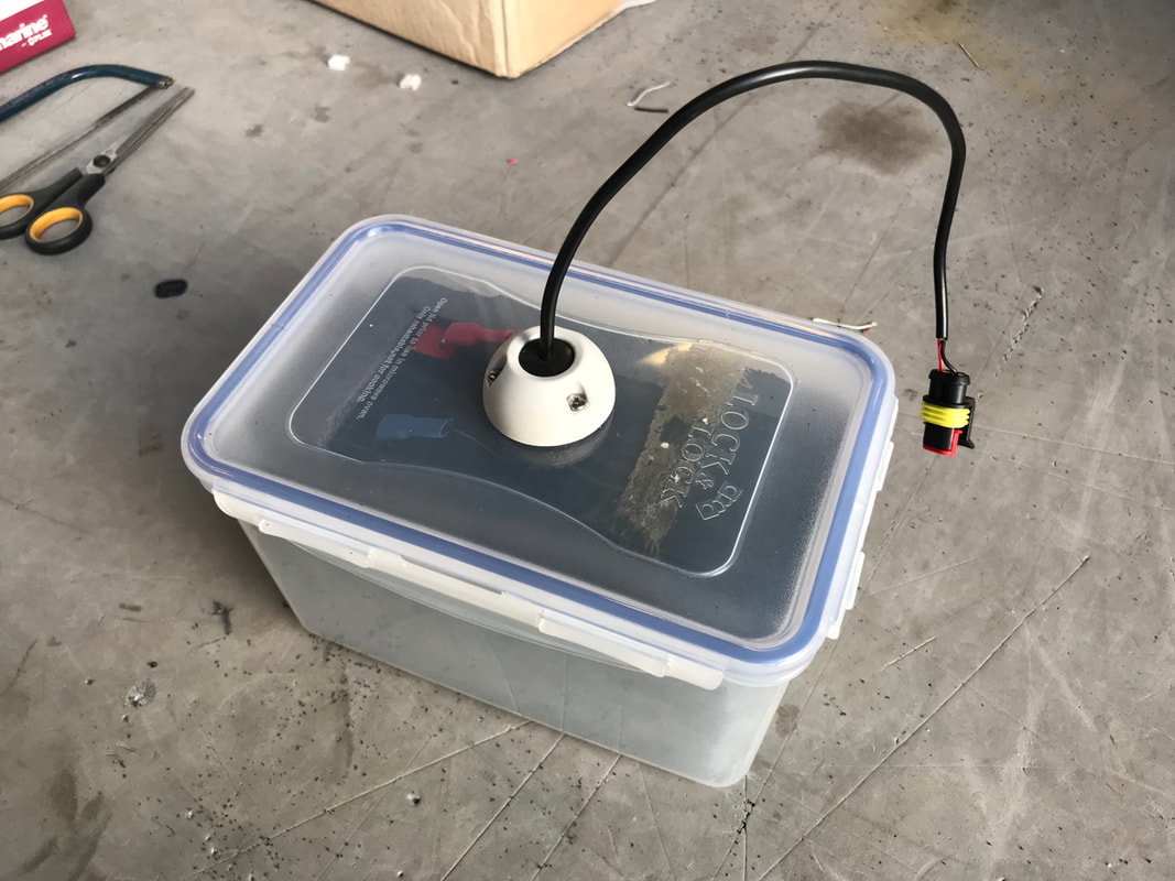 Waterproof Battery Box for Kayaks and Fish Finders