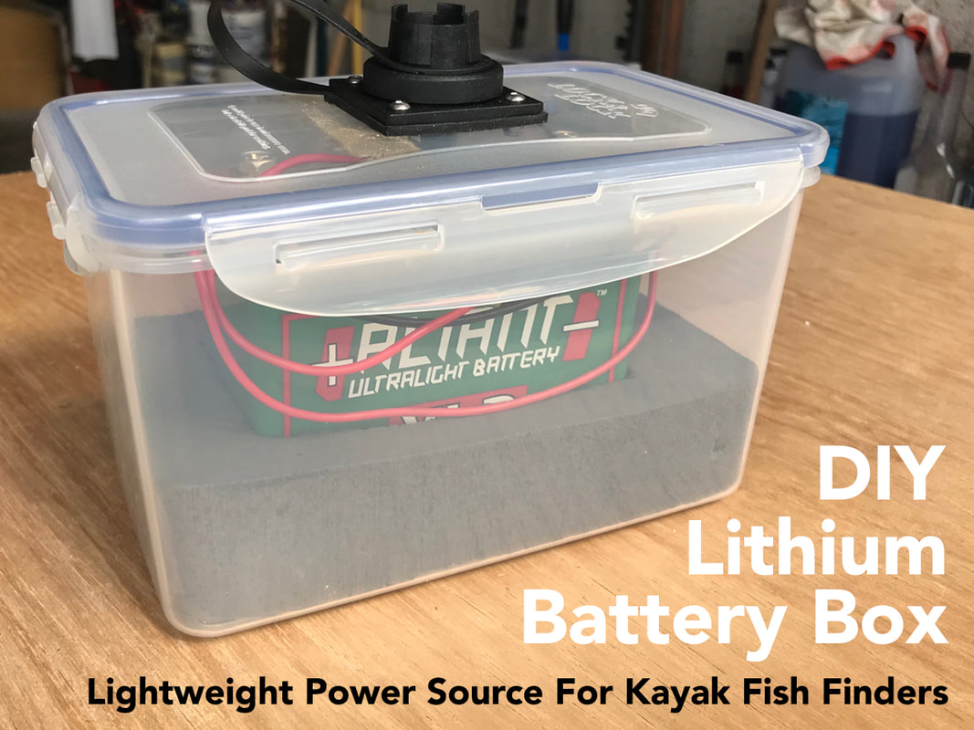 Waterproof Lithium Battery Pack for Kayaks